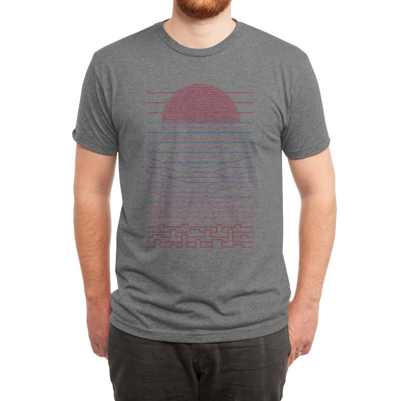 Leave The City For The Sea Men's T-Shirt by thepapercrane's shop