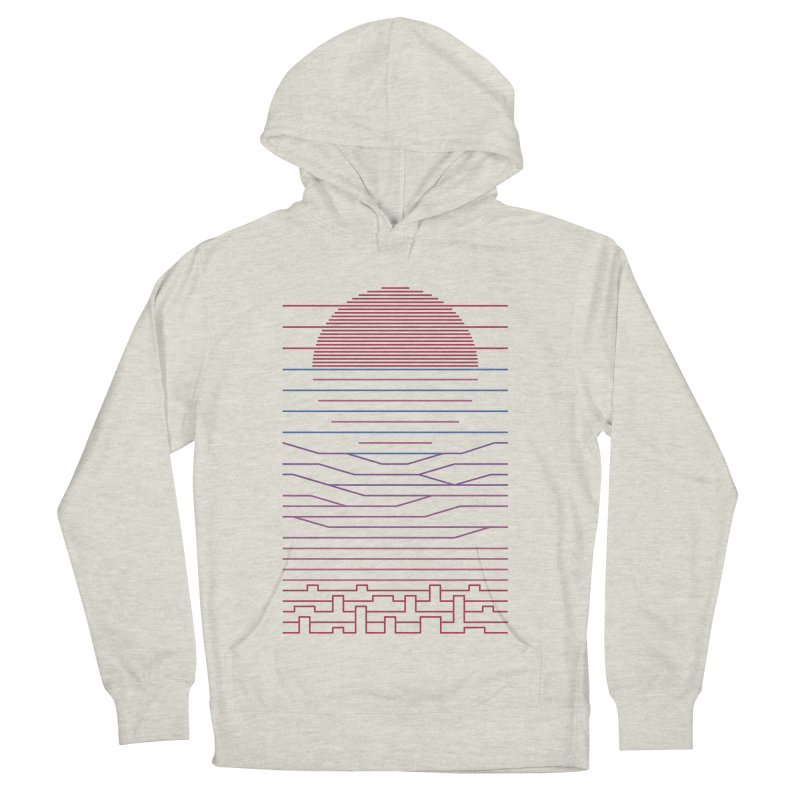 Leave The City For The Sea Women's French Terry Pullover Hoody by thepapercrane's shop