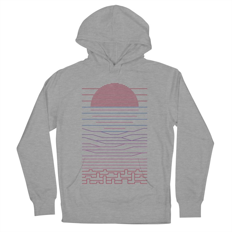 Leave The City For The Sea Men's French Terry Pullover Hoody by thepapercrane's shop