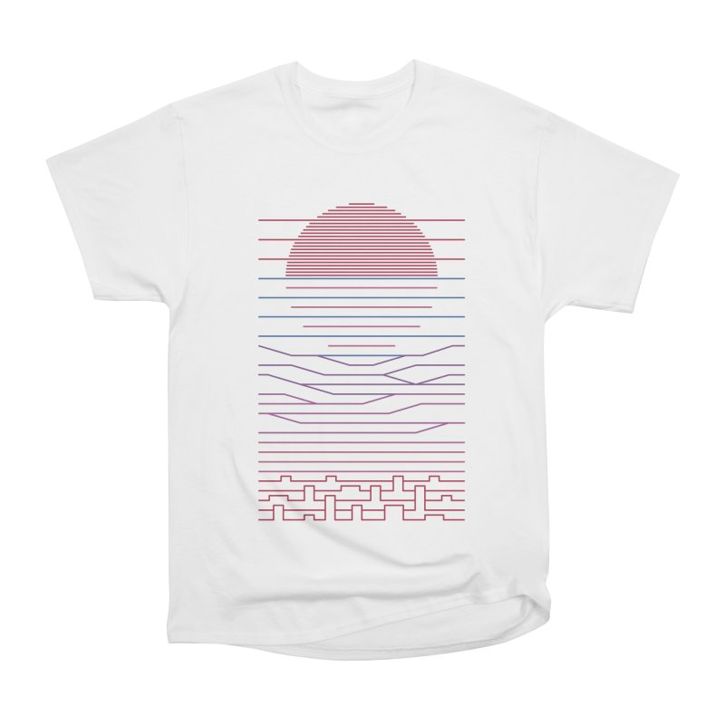 Leave The City For The Sea Women's T-Shirt by thepapercrane's shop