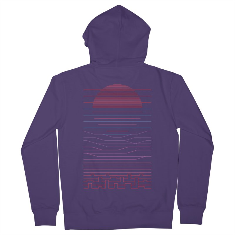 Leave The City For The Sea Women's Zip-Up Hoody by thepapercrane's shop