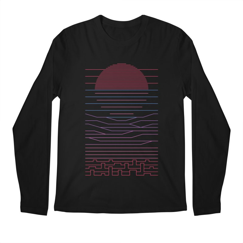 Leave The City For The Sea Men's Regular Longsleeve T-Shirt by thepapercrane's shop