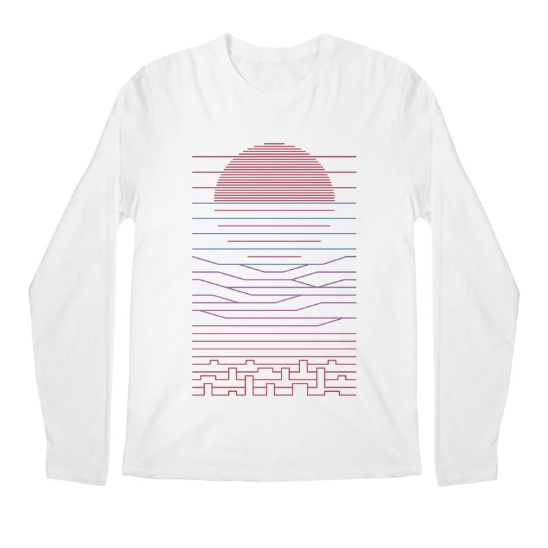 Leave The City For The Sea Men's Longsleeve T-Shirt by thepapercrane's shop