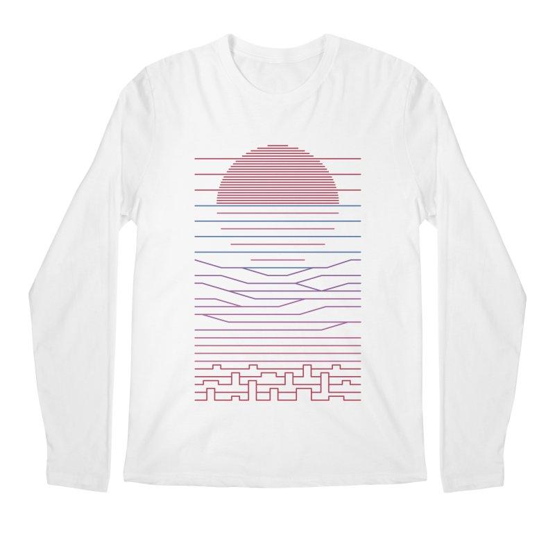 Leave The City For The Sea Men's Regular Longsleeve T-Shirt by thepapercrane's shop