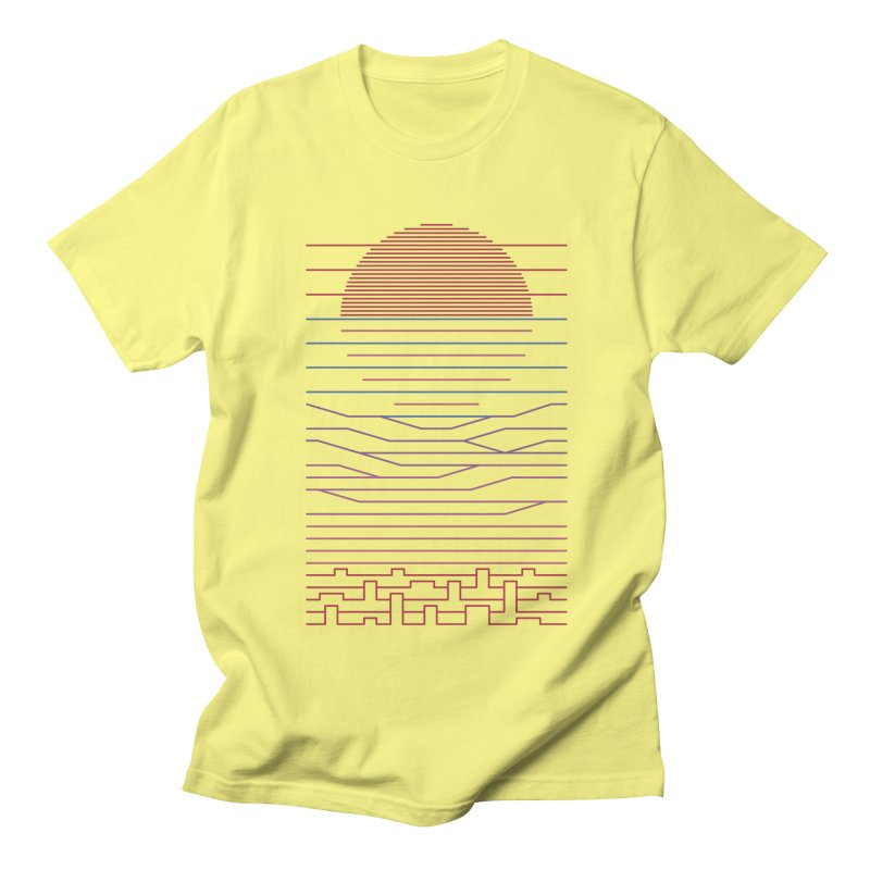 Leave The City For The Sea Women's Regular Unisex T-Shirt by thepapercrane's shop