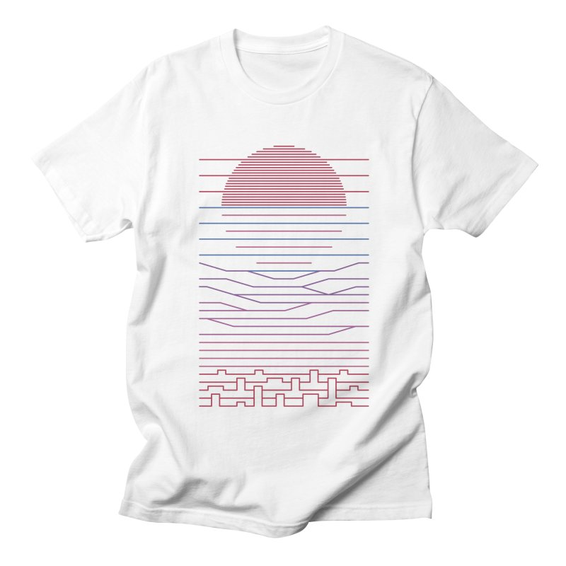Leave The City For The Sea Men's Regular T-Shirt by thepapercrane's shop