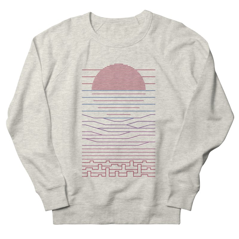 Leave The City For The Sea Men's Sweatshirt by thepapercrane's shop