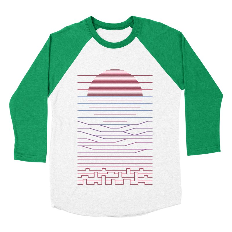Leave The City For The Sea Women's Baseball Triblend Longsleeve T-Shirt by thepapercrane's shop