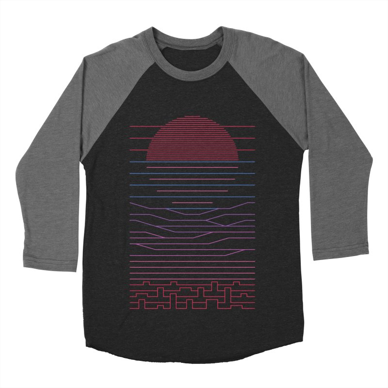 Leave The City For The Sea Men's Baseball Triblend Longsleeve T-Shirt by thepapercrane's shop