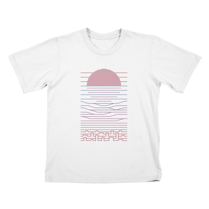Leave The City For The Sea Kids T-Shirt by thepapercrane's shop