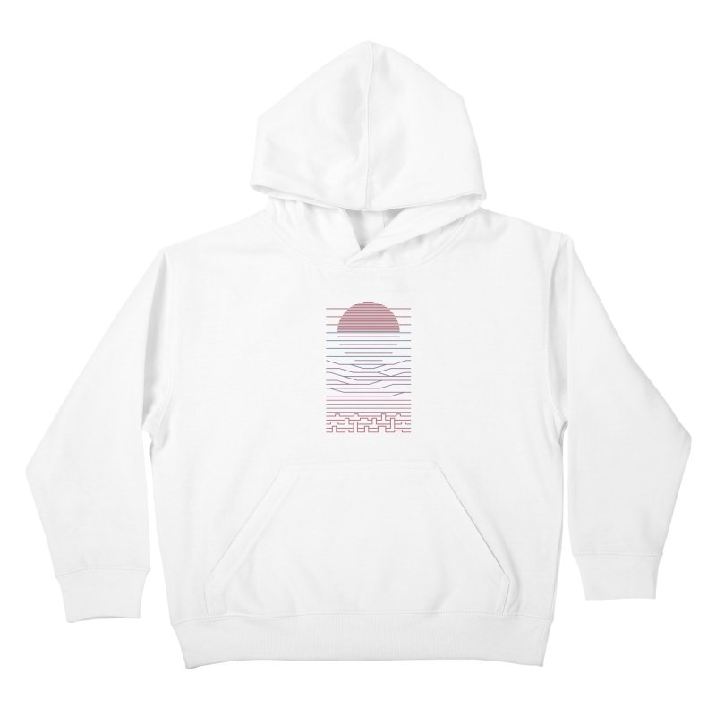 Leave The City For The Sea Kids Pullover Hoody by thepapercrane's shop