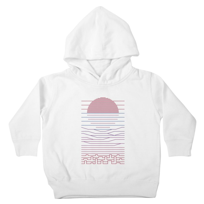 Leave The City For The Sea Kids Toddler Pullover Hoody by thepapercrane's shop