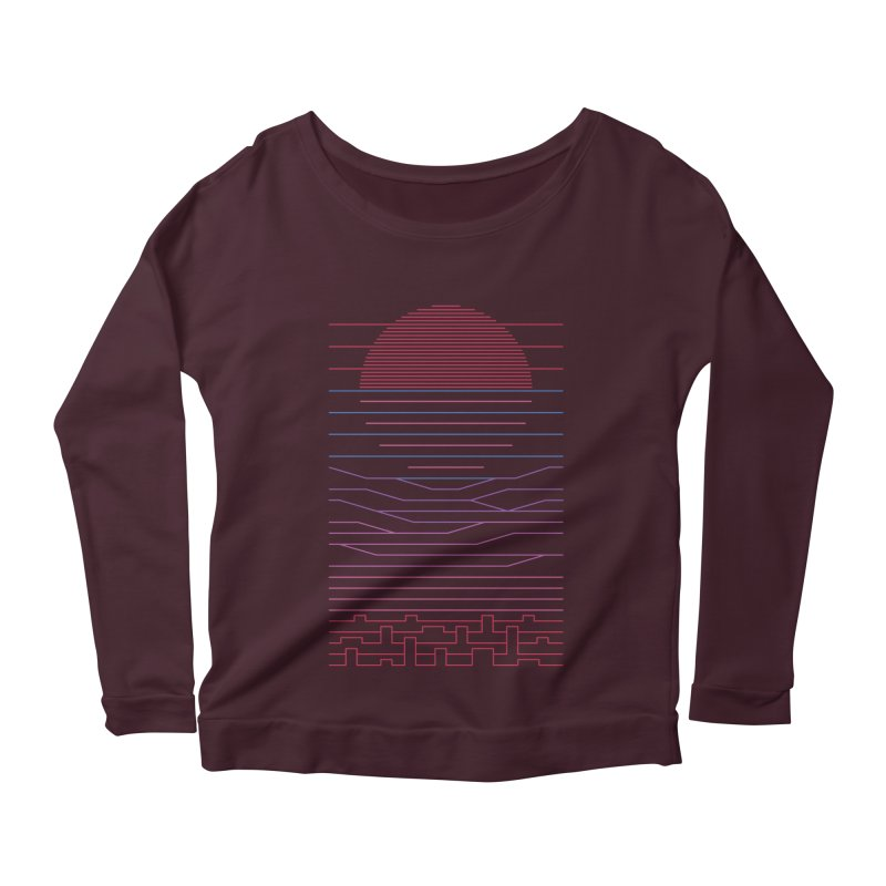 Leave The City For The Sea Women's Longsleeve T-Shirt by thepapercrane's shop