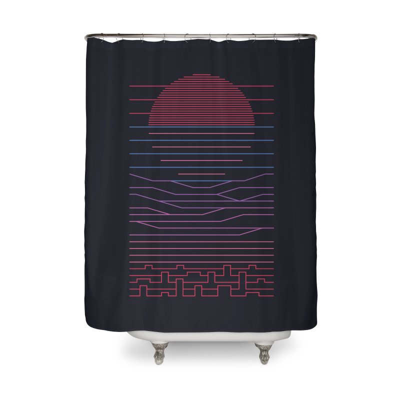 Leave The City For The Sea Home Shower Curtain by thepapercrane's shop