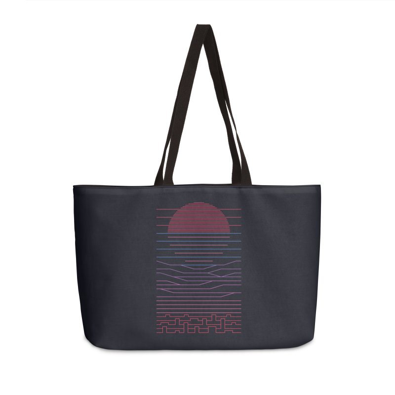 Leave The City For The Sea Accessories Weekender Bag Bag by thepapercrane's shop