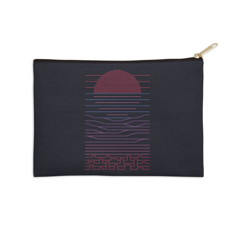 Leave The City For The Sea Accessories Zip Pouch by thepapercrane's shop
