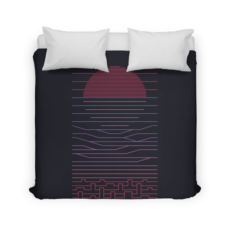 Leave The City For The Sea Home Duvet by thepapercrane's shop