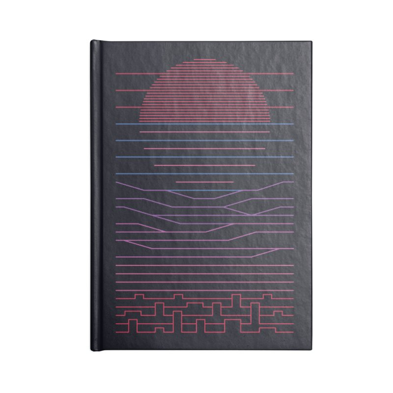 Leave The City For The Sea Accessories Notebook by thepapercrane's shop