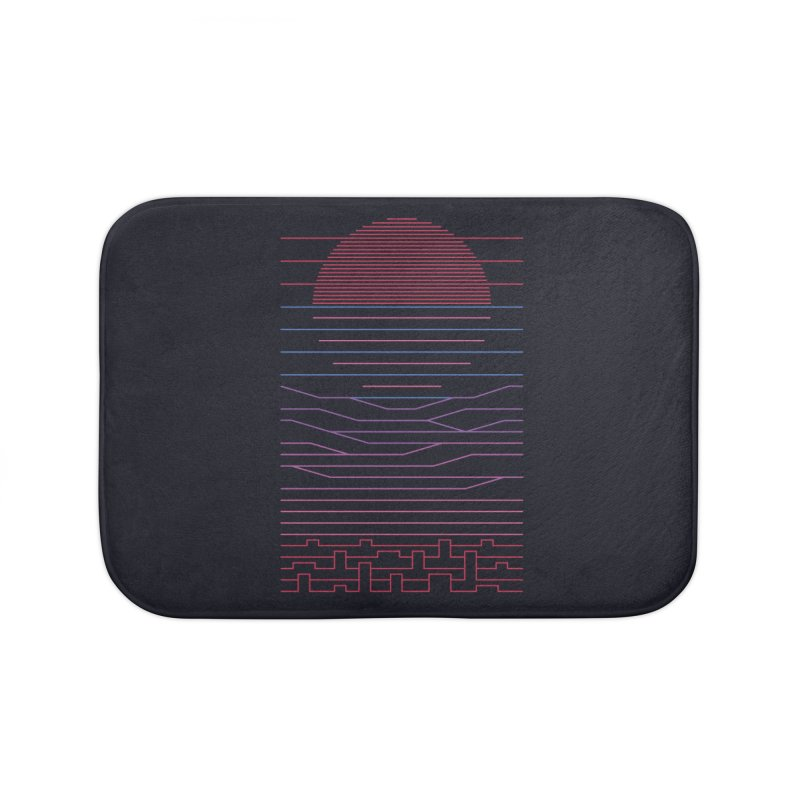 Leave The City For The Sea Home Bath Mat by thepapercrane's shop