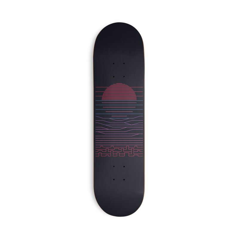 Leave The City For The Sea Accessories Skateboard by thepapercrane's shop