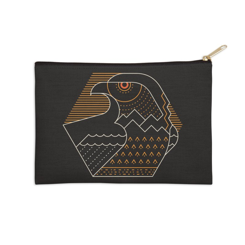 Earth Guardian Accessories Zip Pouch by thepapercrane's shop