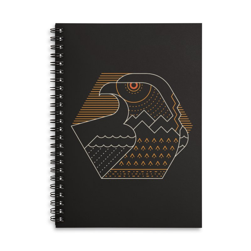 Earth Guardian Accessories Lined Spiral Notebook by thepapercrane's shop