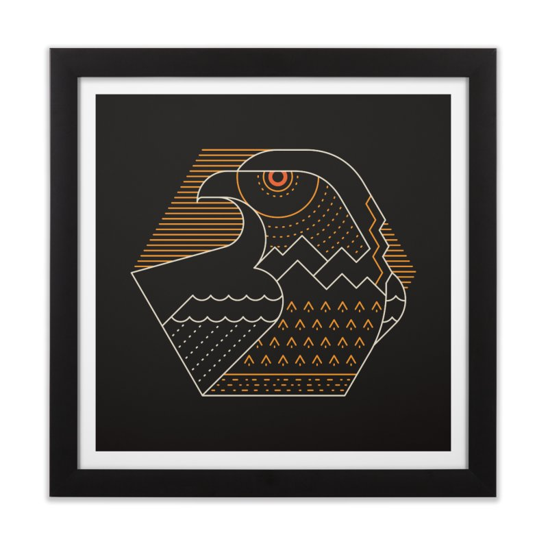 Earth Guardian Home Framed Fine Art Print by thepapercrane's shop