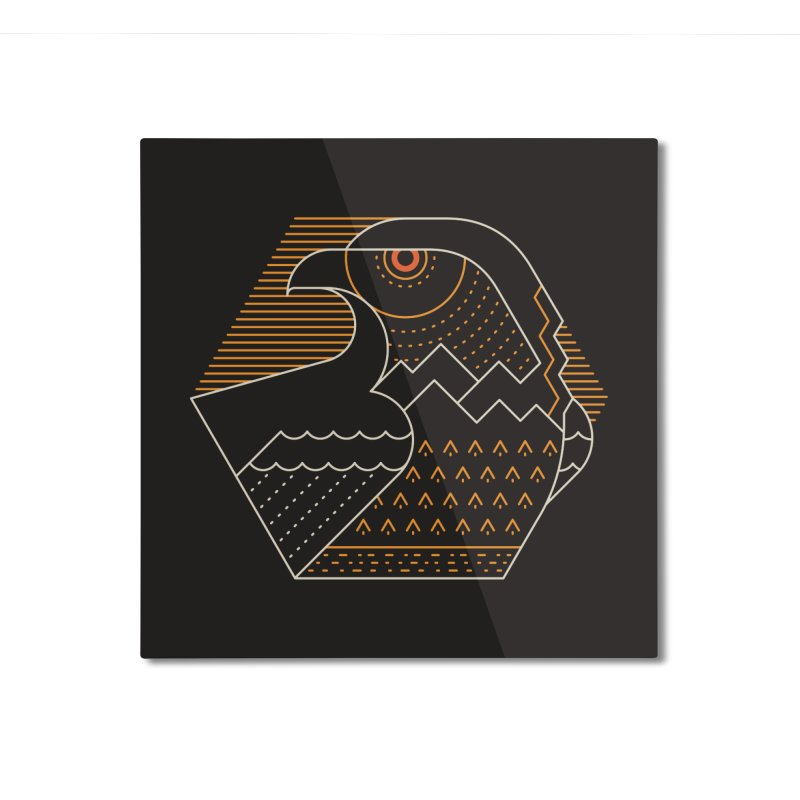 Earth Guardian Home Mounted Aluminum Print by thepapercrane's shop