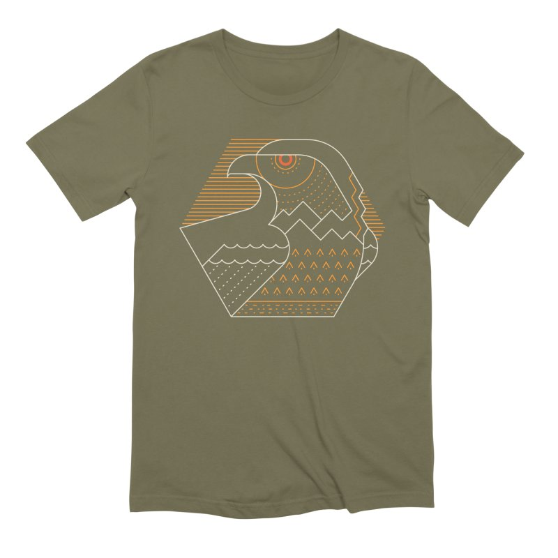 Earth Guardian Men's T-Shirt by thepapercrane's shop