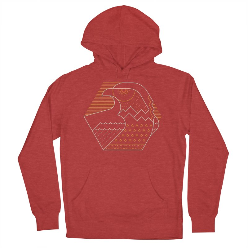 Earth Guardian Men's French Terry Pullover Hoody by thepapercrane's shop
