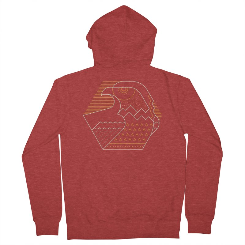 Earth Guardian Men's French Terry Zip-Up Hoody by thepapercrane's shop