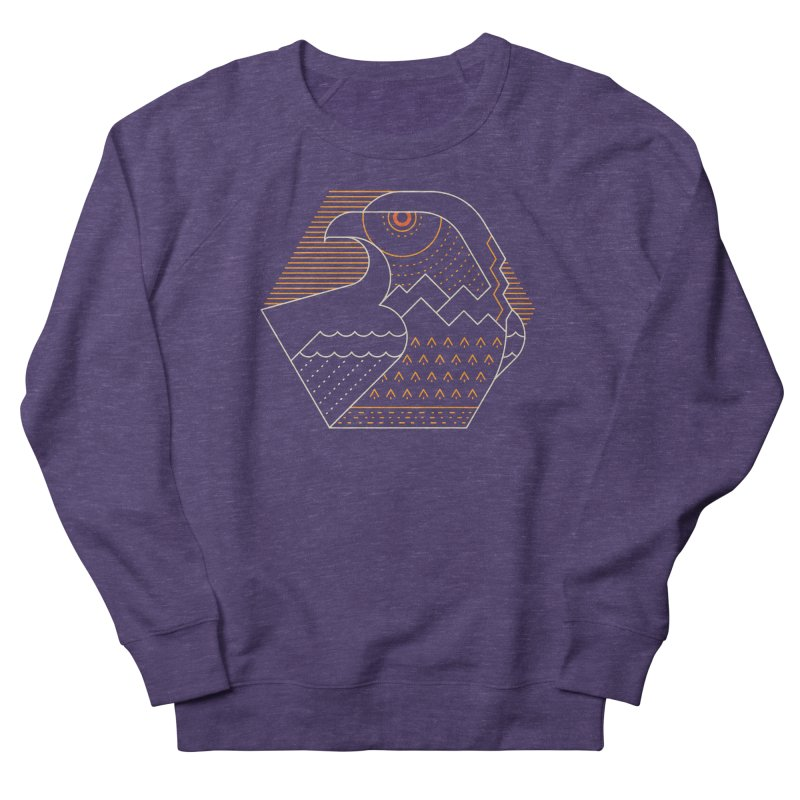Earth Guardian Women's French Terry Sweatshirt by thepapercrane's shop