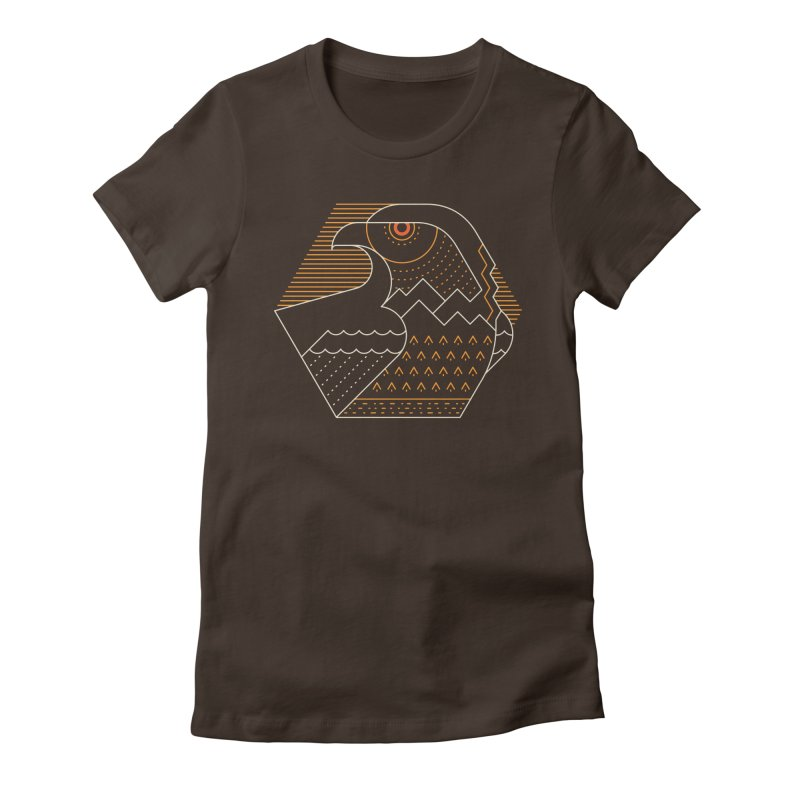 Earth Guardian Women's Fitted T-Shirt by thepapercrane's shop
