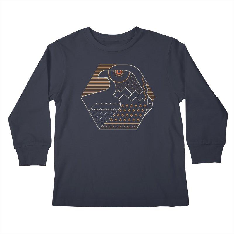 Earth Guardian Kids Longsleeve T-Shirt by thepapercrane's shop