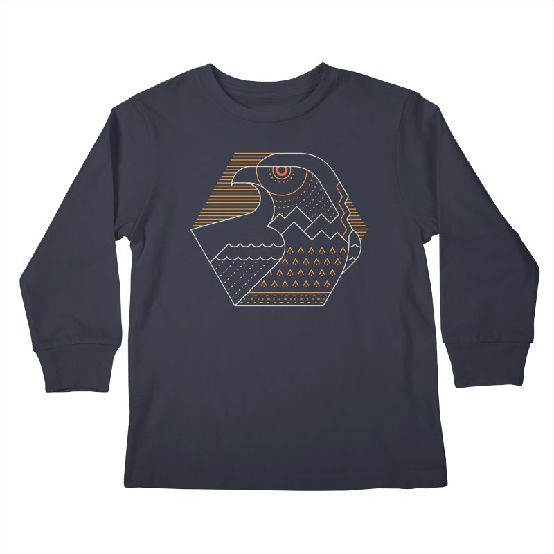 Earth Guardian Kids Longsleeve T-Shirt by thepapercrane's shop
