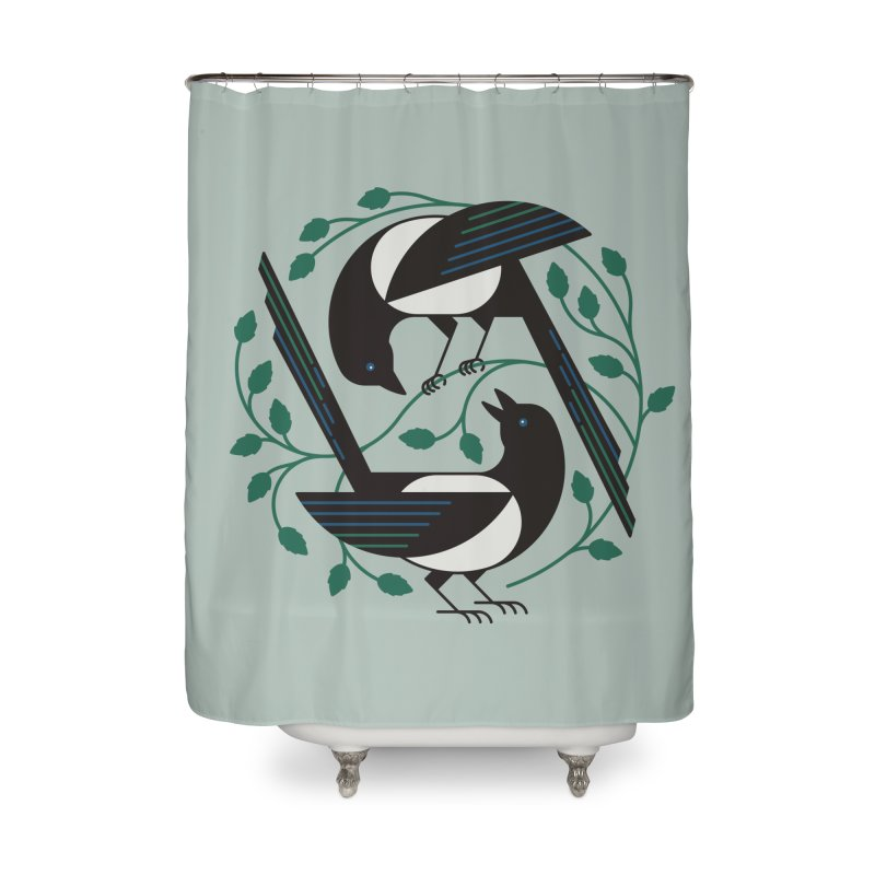 The Joy Of Spring Home Shower Curtain by thepapercrane's shop