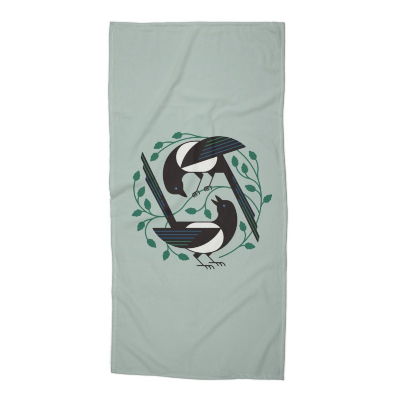 The Joy Of Spring Accessories Beach Towel by thepapercrane's shop