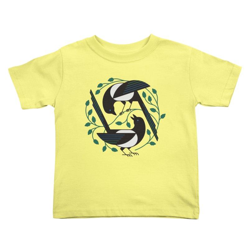 The Joy Of Spring Kids Toddler T-Shirt by thepapercrane's shop