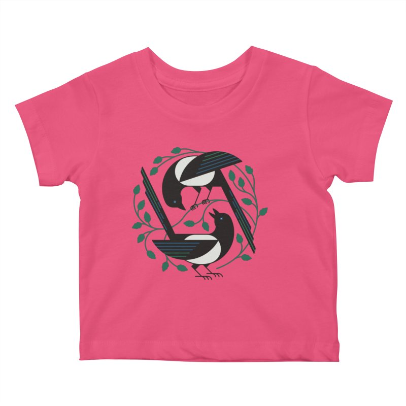 The Joy Of Spring Kids Baby T-Shirt by thepapercrane's shop