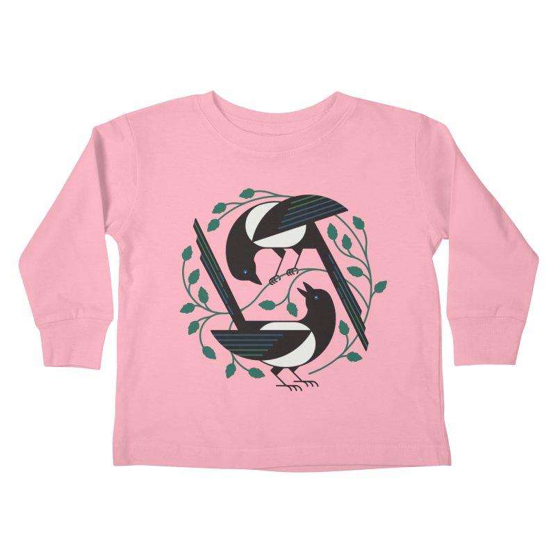 The Joy Of Spring Kids Toddler Longsleeve T-Shirt by thepapercrane's shop