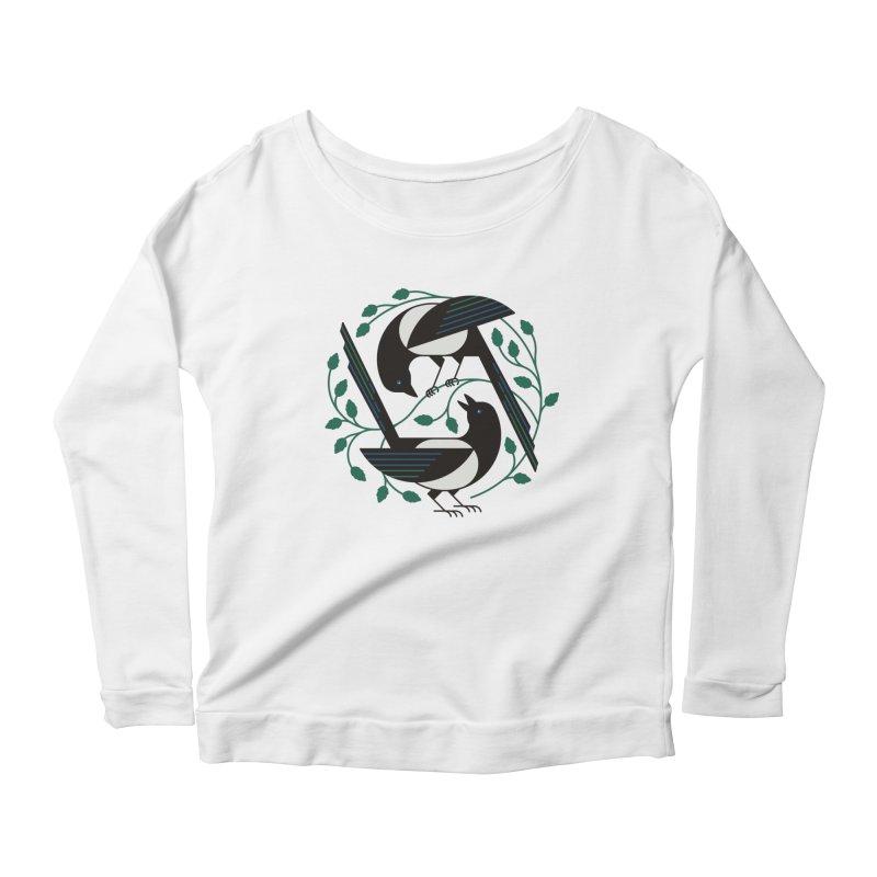 The Joy Of Spring Women's Scoop Neck Longsleeve T-Shirt by thepapercrane's shop