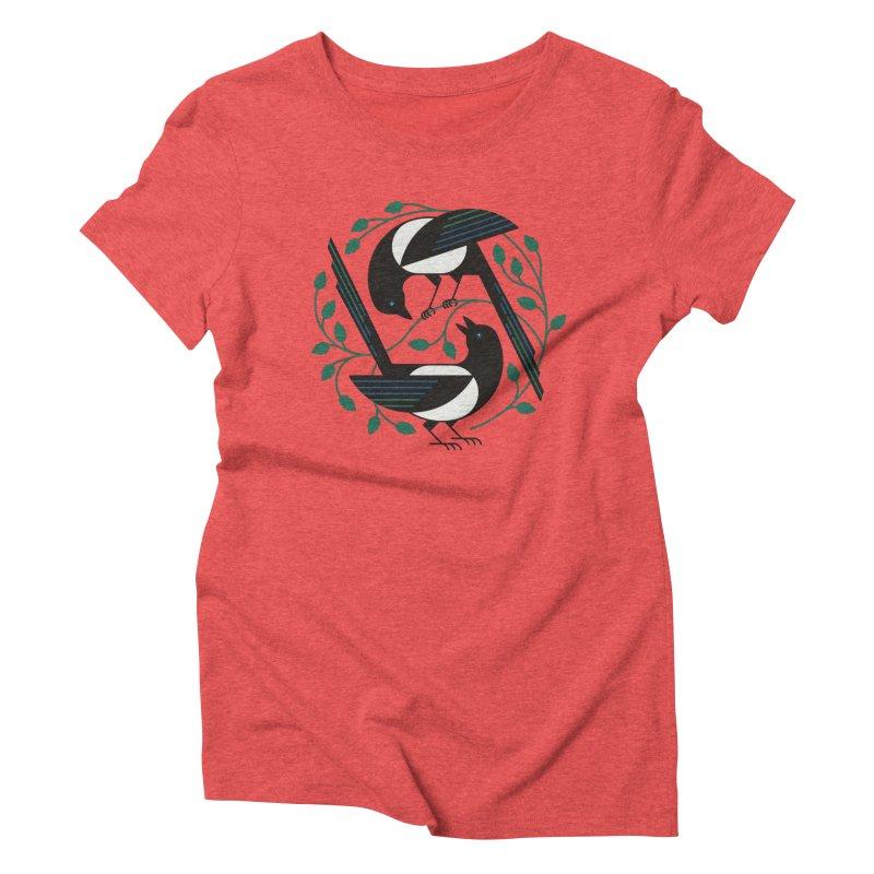 The Joy Of Spring Women's Triblend T-Shirt by thepapercrane's shop