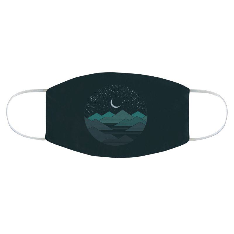 Between The Mountains And The Stars Accessories Face Mask by thepapercrane's shop