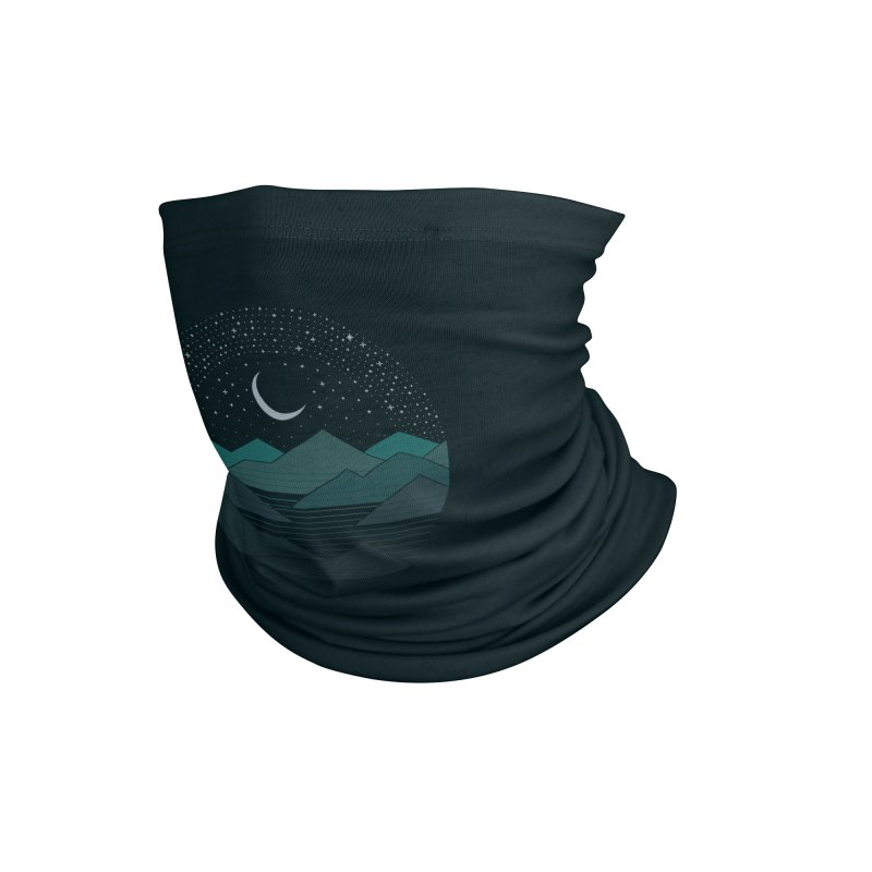Between The Mountains And The Stars Accessories Neck Gaiter by thepapercrane's shop