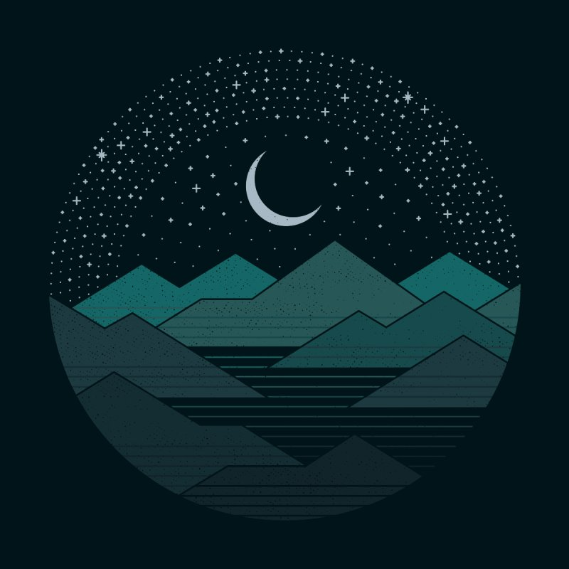 Between The Mountains And The Stars Women's Tank by thepapercrane's shop