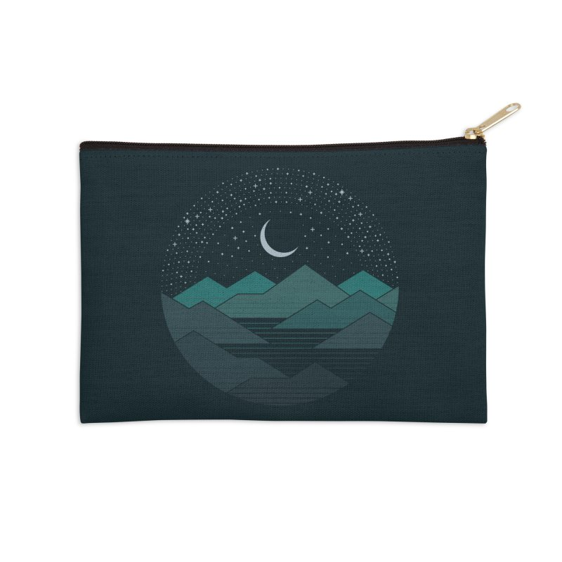 Between The Mountains And The Stars Accessories Zip Pouch by thepapercrane's shop