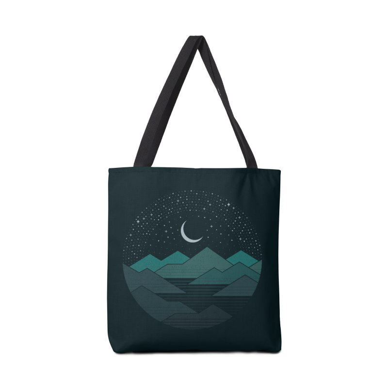 Between The Mountains And The Stars Accessories Tote Bag Bag by thepapercrane's shop