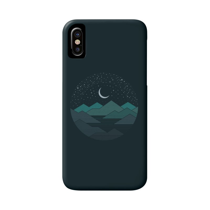 Between The Mountains And The Stars Accessories Phone Case by thepapercrane's shop