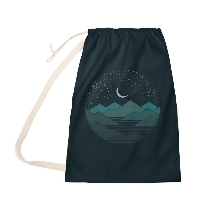 Between The Mountains And The Stars Accessories Bag by thepapercrane's shop
