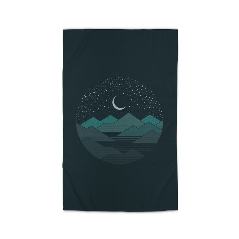 Between The Mountains And The Stars Home Rug by thepapercrane's shop
